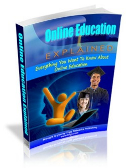 Product picture Online Education Explained PLR eBook + Turnkey Website!