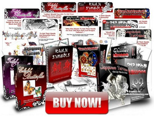 Product picture Tattoo eBooks With Master Resale Rights
