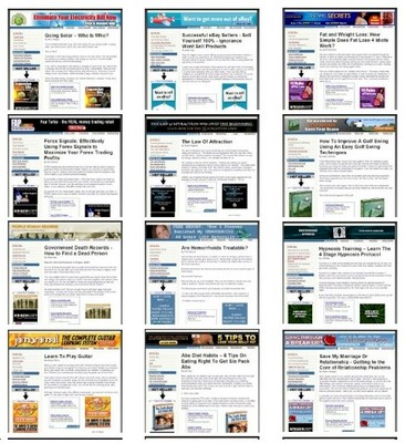 Product picture 47 Clickbank Websites - Brand New Turnkey Websites MRR