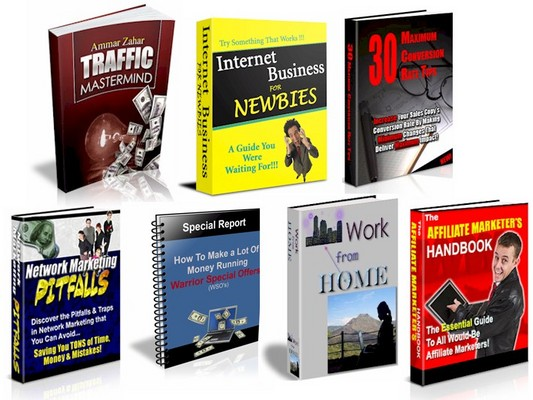 Product picture 7 No Restriction Affiliate Internet Marketing PLR eBooks