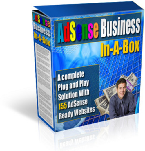 Product picture 155 Google Adsense Sites - Business In-A-Box With MRR