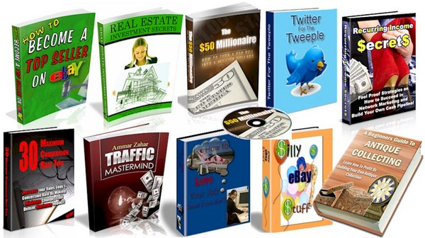 Product picture 70 High Quality PLR eBooks - Mega Package!