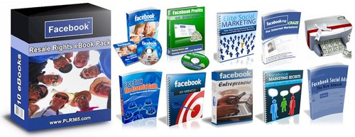 Product picture Facebook Marketing Package eBooks & Audios PLR