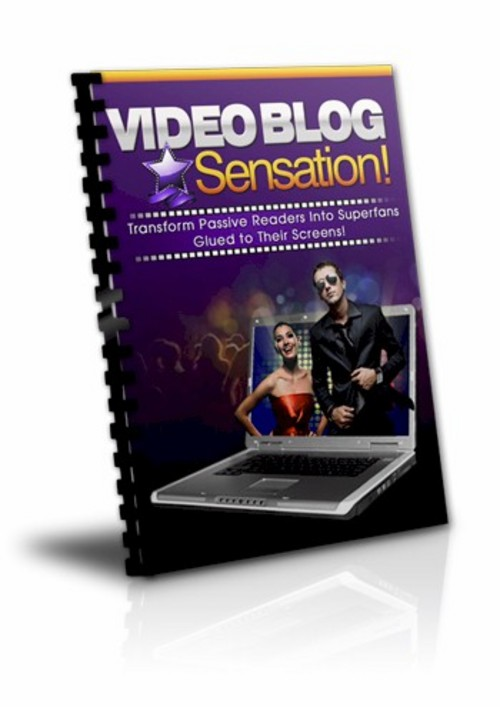 Product picture Video Blogging eBook With Private Label Rights