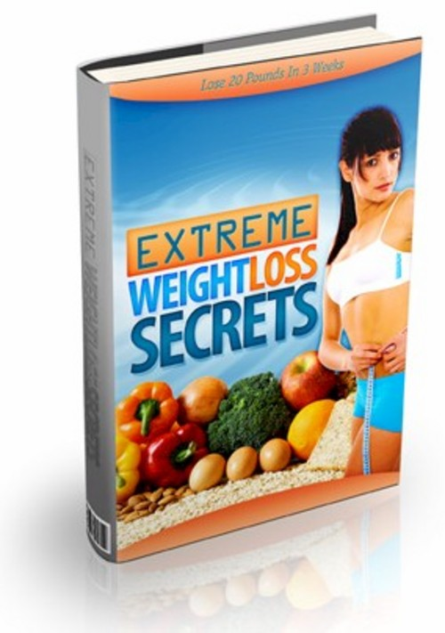 Product picture Extreme Weight Loss Secrets PLR eBook Package