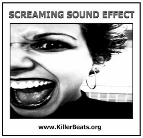 Product picture Woman Screaming Sound Effect Wav 02