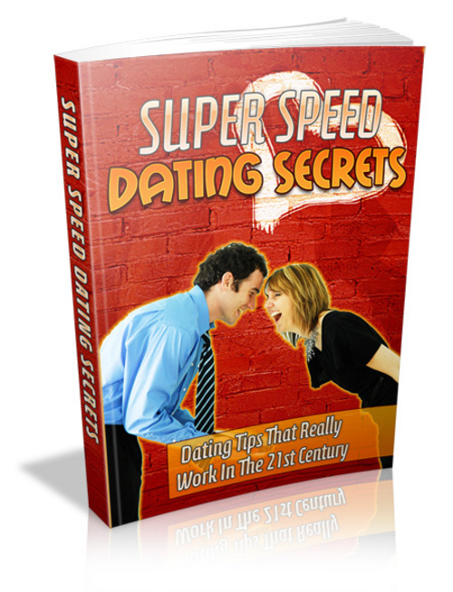 Product picture Super Speed Dating Secrets PLR eBook