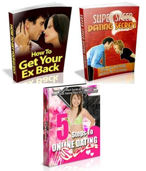 Product picture 3 Hot Dating PLR eBooks With No Restrictions